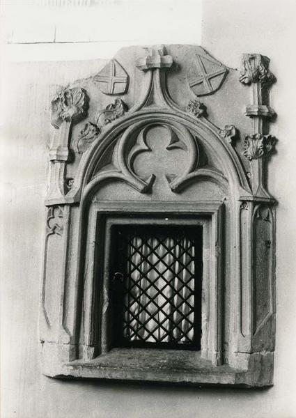 armoire eucharistique, vue générale