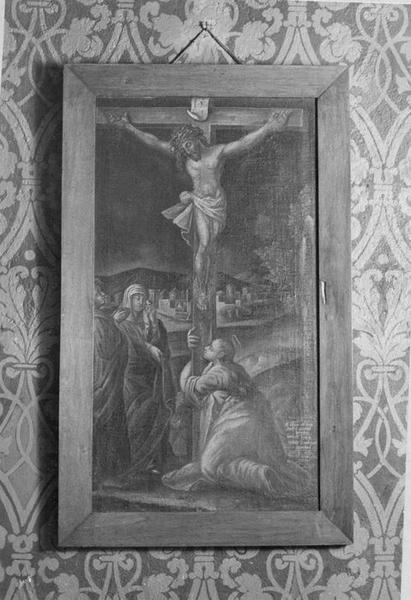 tableau : la Crucifixion, vue générale
