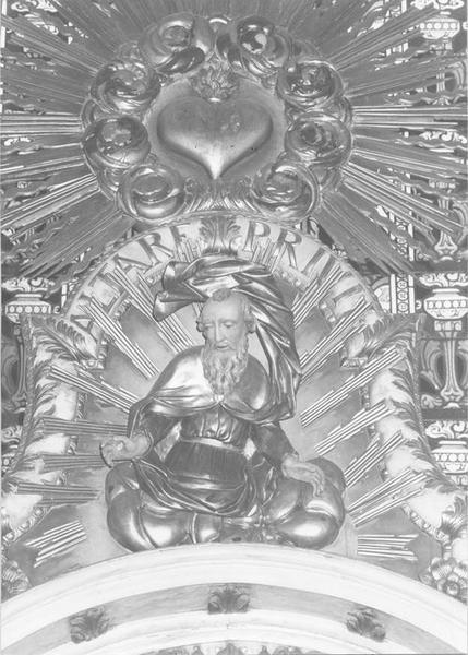 autel, retable, dit de Notre-Dame de Thierenbach, détail