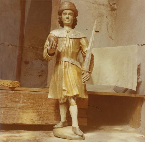 statue : saint Eulogius (?), Stanislas (?), Koska (?), vue générale