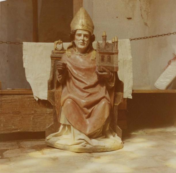 statue : saint Wolfgang, vue générale