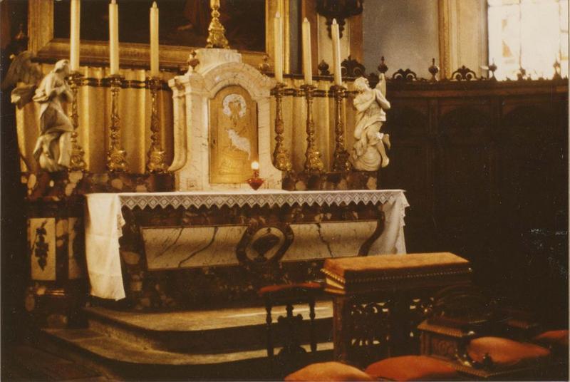 Autel, tabernacle (maître-autel), vue générale