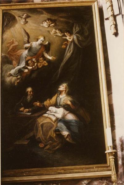 tableau : sainte Anne, vue générale