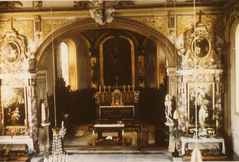 autels, retables latéraux gauche, vue générale
