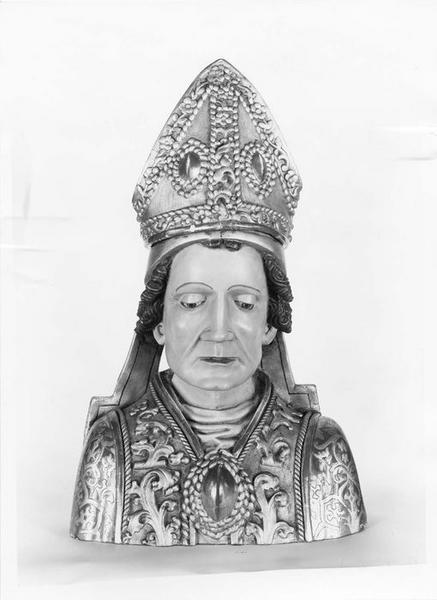 Buste : saint Blaise
