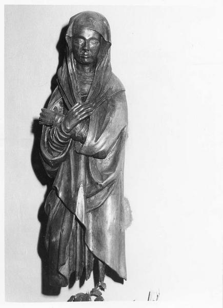 statue : Vierge de douleur, vue générale