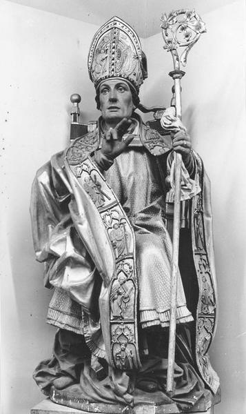 statue : saint Apollinaire de Ravenne, vue générale
