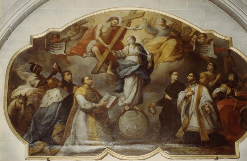 tableau : Immaculée Conception (l'), vue générale
