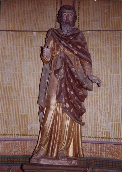 statue : saint Joachim, vue générale