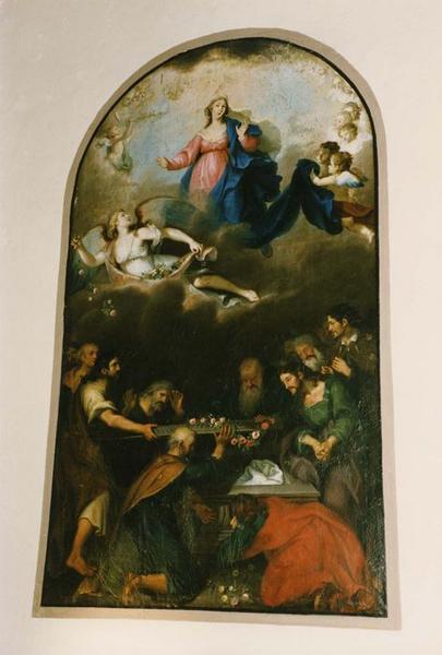 tableau : l' Assomption de la Vierge, vue générale