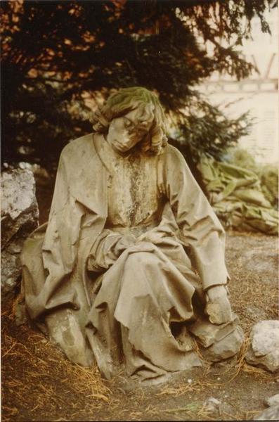 Statue: saint Jean, mont des Oliviers, vue générale