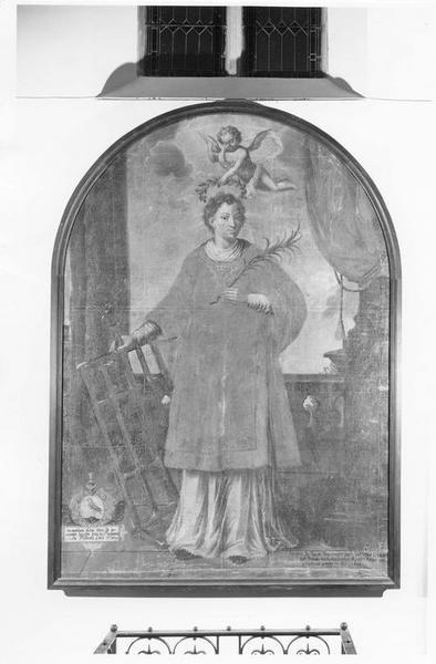 tableau : saint Laurent, vue générale