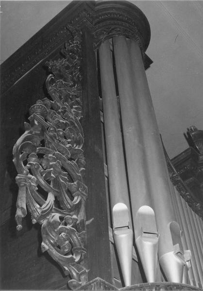orgue de tribune, détail