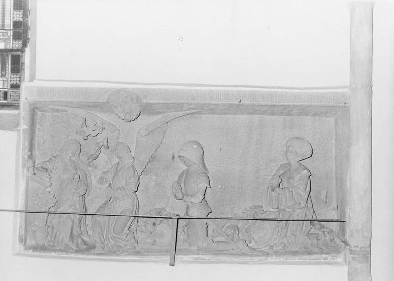 monument sépulcral, de Guillaume Capler et sa femme avec l'annonciation, vue générale