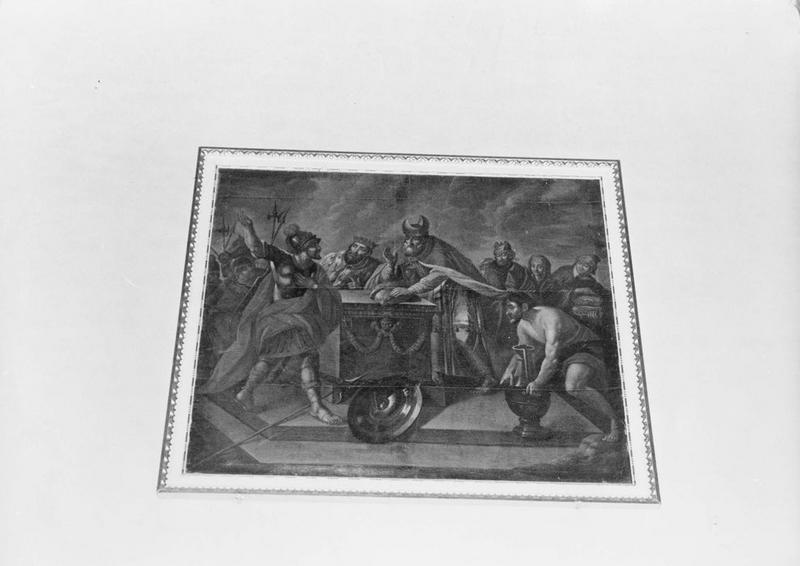 Tableau : le Sacrifice de Melchisédech