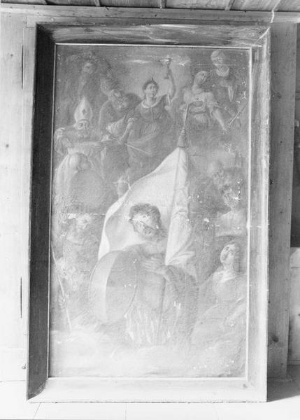 tableau : les quatorze saints intercesseurs, vue générale