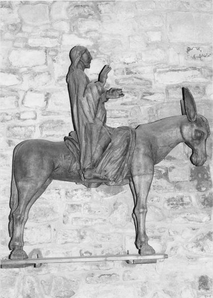 statue : Christ des rameaux, vue générale