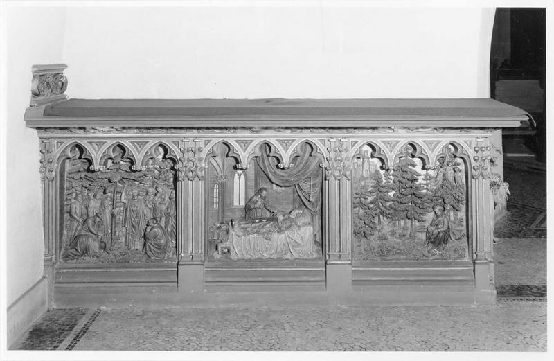 autel, de saint Thiebaut, vue générale