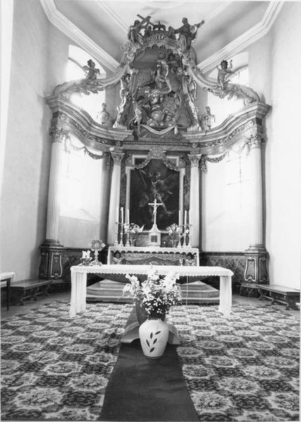 Tableau : saint Michel combattant le dragon