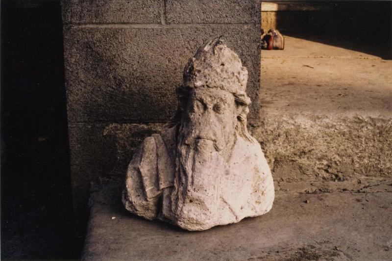 Statue : buste d'empereur
