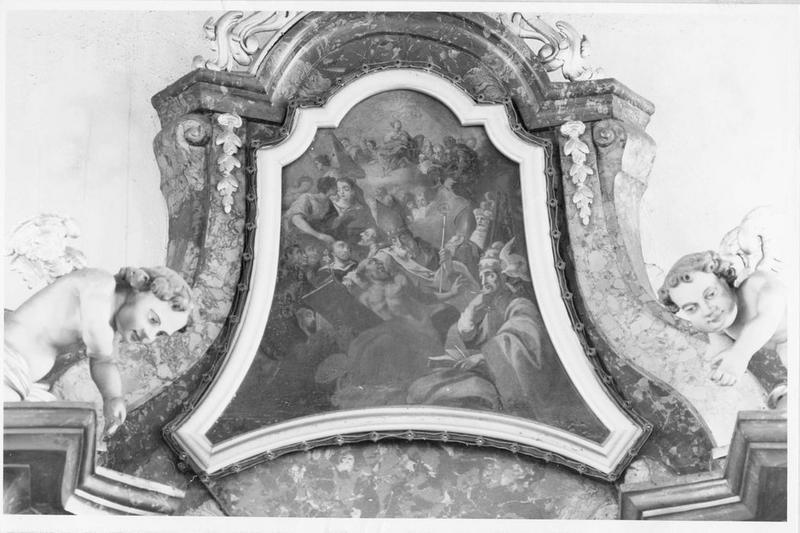 tableau : tous les saints, vue générale