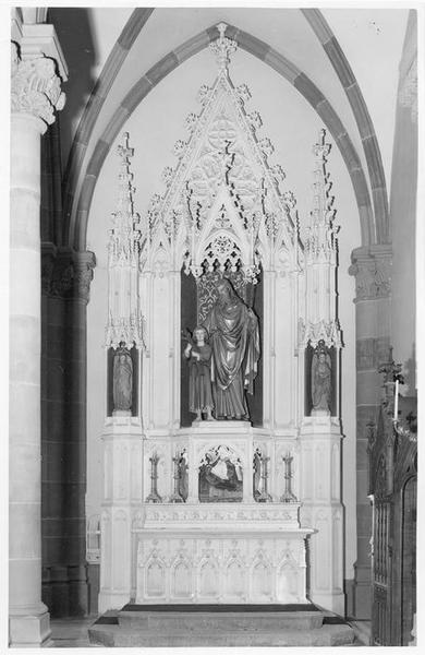 autel, de saint Joseph, vue générale