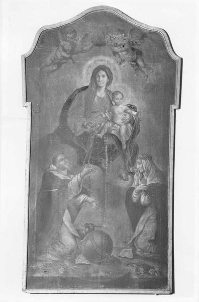tableau : Notre-Dame du Rosaire, vue générale