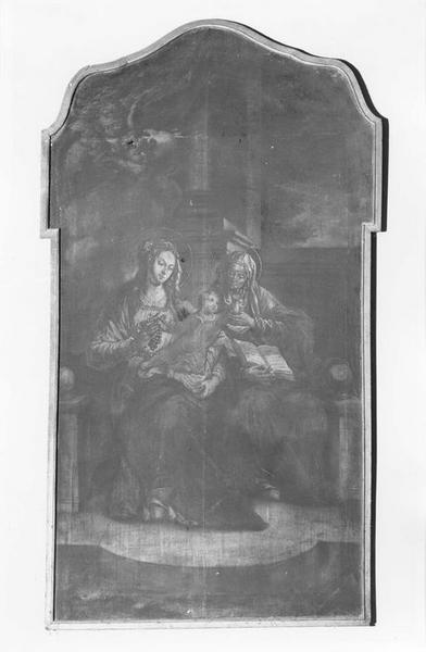 Tableau : sainte Anne trinitaire