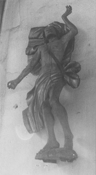 statue : la Résurrection du Christ, vue générale