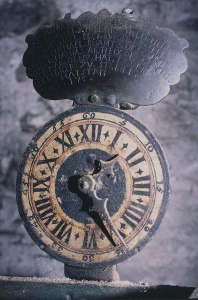 Mécanisme d'horloge de clocher