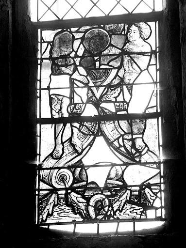 Panneau de vitrail