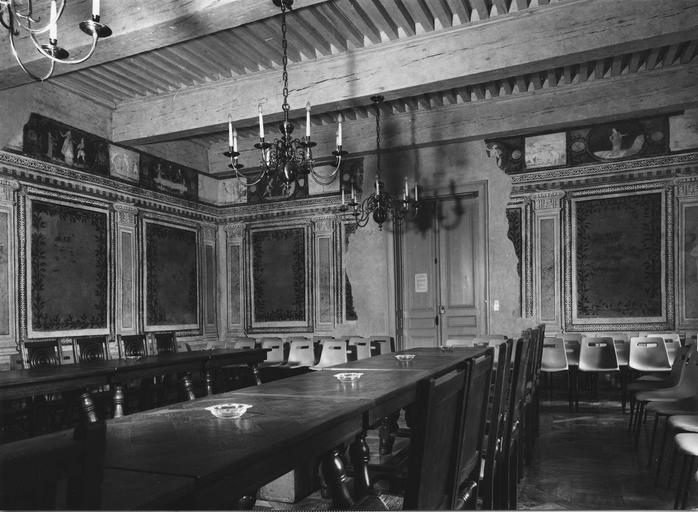 Vue de la Salle du Conseil