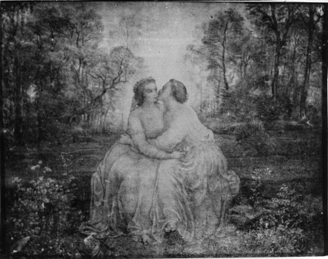 Dessin : Amour, issu de la 2e série du Poème de l'Ame
