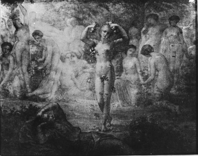 Dessin : Rêve de feu, issu de la 2e série du Poème de l'Ame