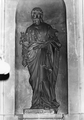 Statue : Saint Joseph, pierre sculptée