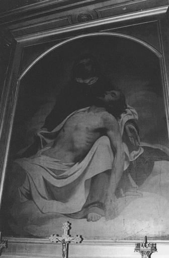 Tableau : Pieta, cadre