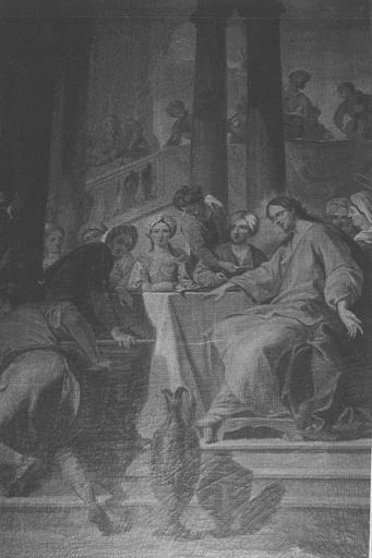 Tableau : Le Repas chez Lévi, cadre