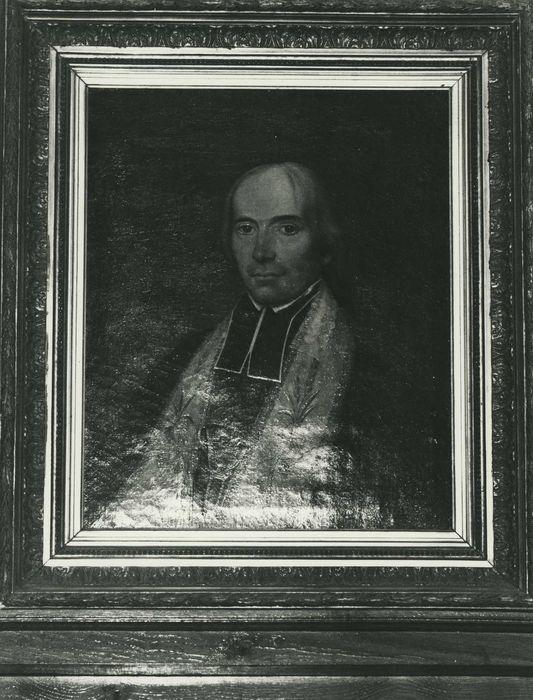 Tableau : Portrait de l'abbé Nicod