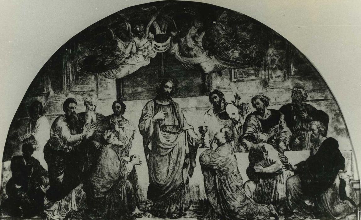 peinture monumentale : Cène, vue générale