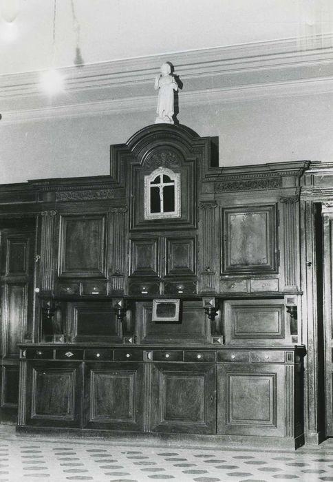meuble de sacristie, vue générale