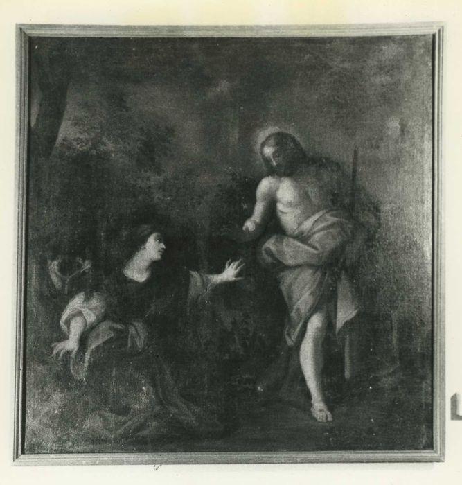 tableau : Christ apparaissant à sainte Madeleine, vue générale