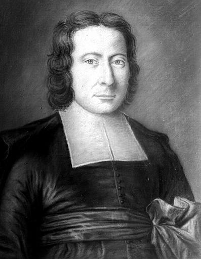 Pastel, portrait de l'Abbé Jean-Baptiste Dubois neveu du cardinal