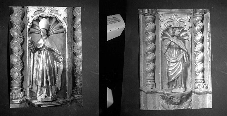 Statuettes du retable