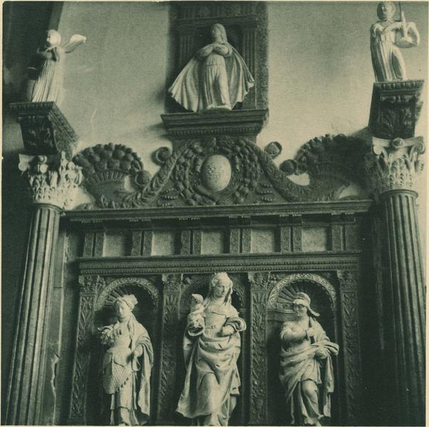 Autel retable de la chapelle d'Andelot ou de Résie