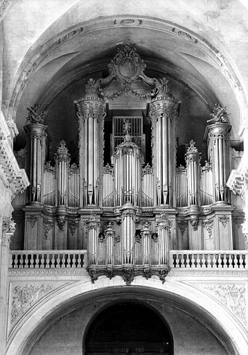 Buffet des orgues