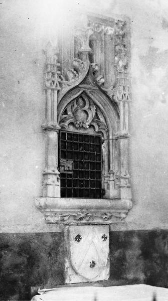 Armoire eucharistique (repositoire), vue générale