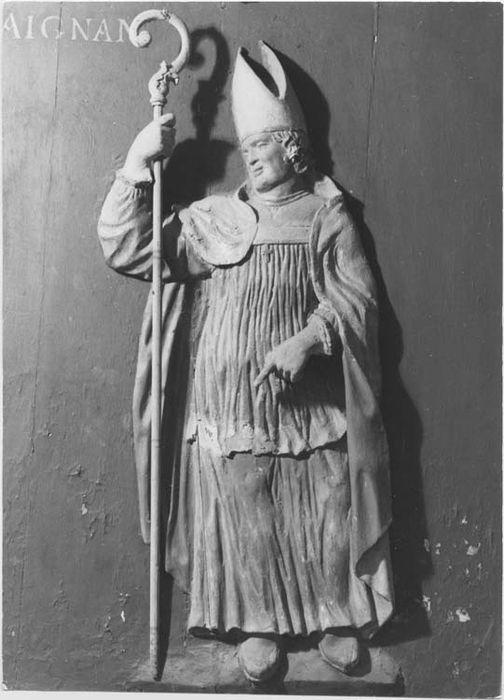 bas-relief : Saint Aignan