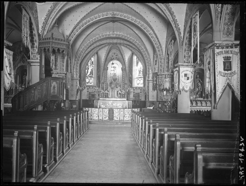 Eglise paroissiale de la Nativité de la Vierge dite Basilique Notre-Dame-de-Sion et ancien couvent des Tiercelins de Sion