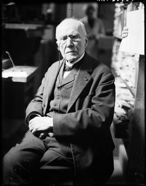 [Edouard Branly, l'inventeur de la T.S.F.]