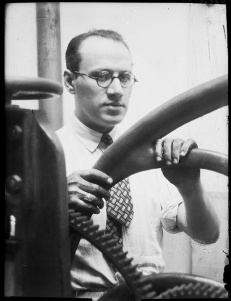 Marcel Vertés à l'imprimerie Chevalier